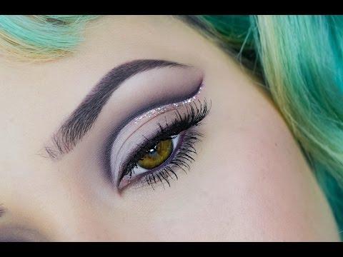 Plum eye makeup tutorial