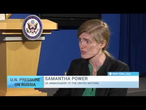 UN Pressure on Russia: Samantha Power on importance of sanction regime (Exclusive)