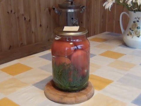 8.Помидоры.Чудо-рецепт заготовки помидор с морковной ботвой.