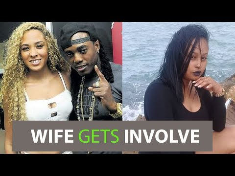 Kiprich WIFE Gets Involve And DlSS His Baby Mother | Popcaan