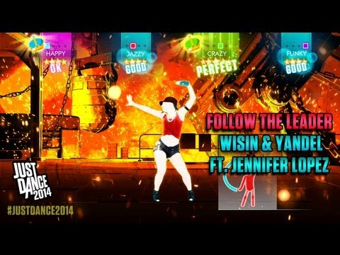Wisin & Yandel Ft. Jennifer Lopez - Follow The Leader | Just Dance 2014 | Gameplay video