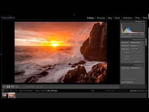 Critiquing and Correcting Sunset Photos - PLP#76 by Serge Ramelli