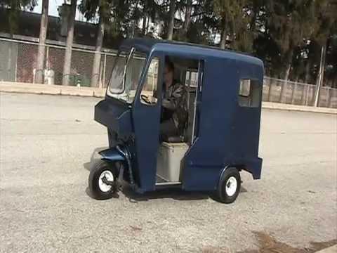 ... Mailster 3 Wheeler Van Like Cushman Truckster FOR SALE - YouTube