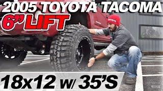 """Spotlight - 2005 Toyota Tacoma, 6"""" lift, 18x12's and 35's"""