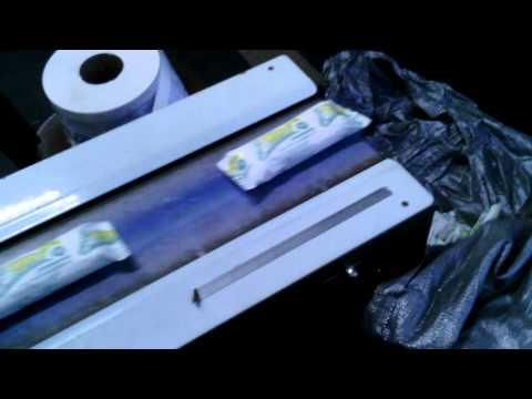 Упаковка бинтов в ламинированную бумагу