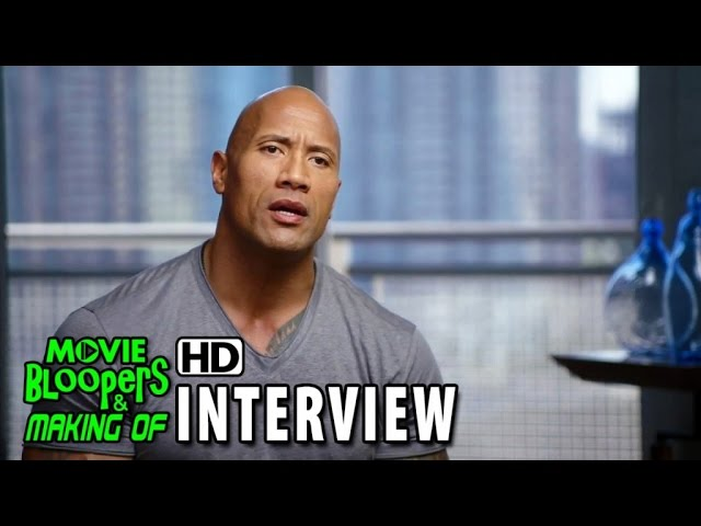 San Andreas (2015) Behind the Scenes Movie Interview - Dwayne Johnson 'Ray'