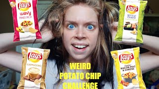WEIRD POTATO CHIP CHALLENGE