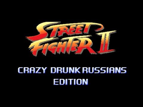 Street Fighter Crazy Drunk Russians Edition Image 1