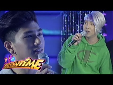 It's Showtime Miss Q & A: Anne is delighted with Vice and Nikko's conversation