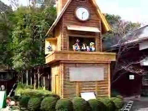 とべ動物園のからくり時計