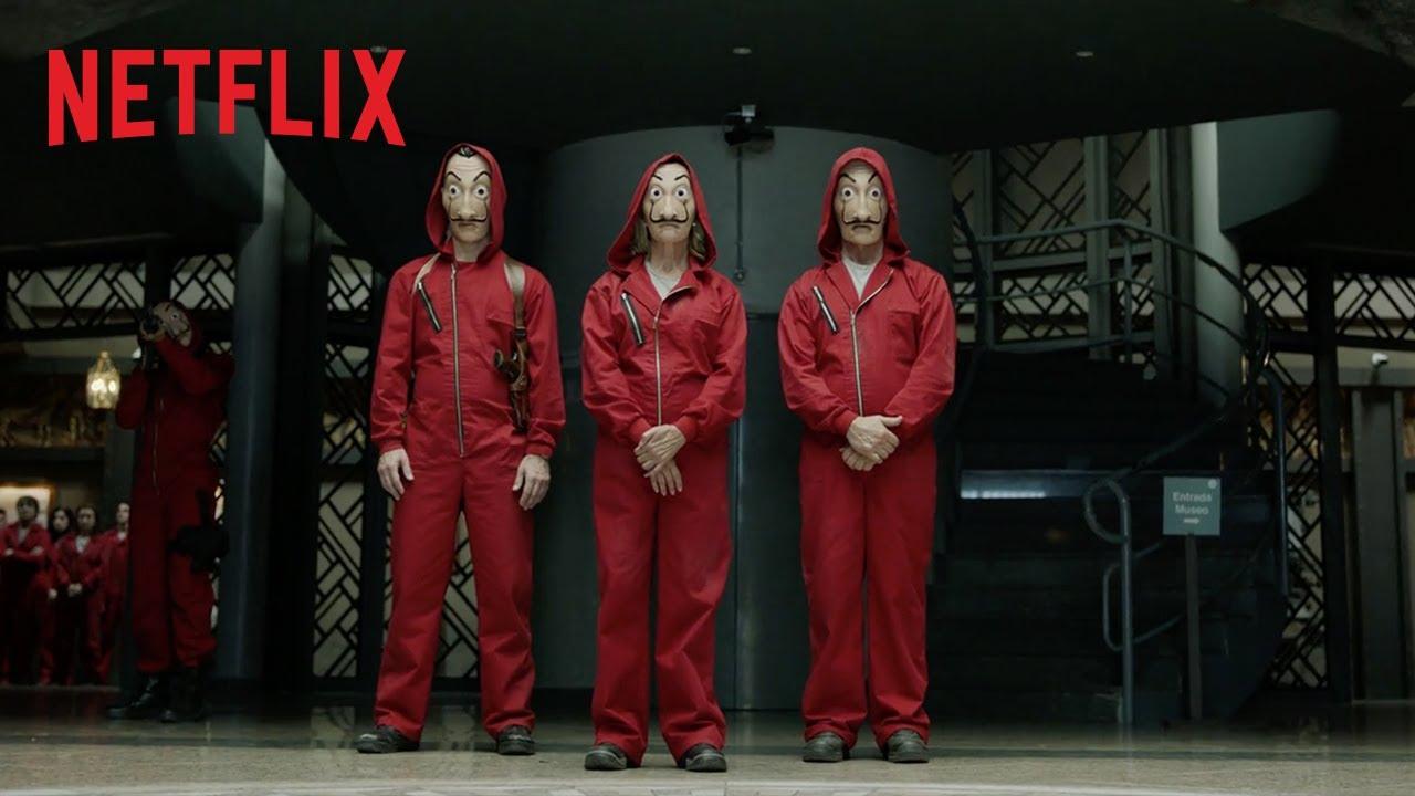 La Casa De Papel Parte Dua Trailer Oficial Netflix Youtube