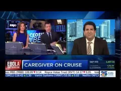 CNBC & The Cruise Guy Discuss Ebola - CruiseGuy.com