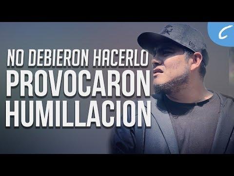 NO DEBIERON HACERLO | Provocaron su humillación | 2018 Freestyle/Rap