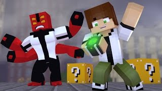 Minecraft - SOU O BEN 10 ‹ ESCOLHA A PORTA › MINI-GAME (LUCKY BLOCK)