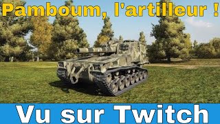 [WoT FR] Pamboum, l'artilleur !  - World of Tanks (français)