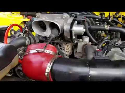 2005 - 2010 Ford Mustang Throttle Body Cleaning - How-to