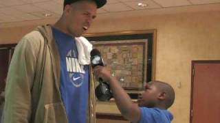 2010 Pro Bowl: 3rd Grade Reporter Anthony Bowie Interview with Miles Austin