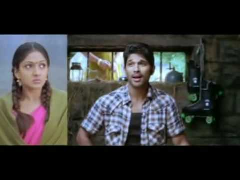 Allu Arjun in Krishna - Super Hit Romantic song - Malayalam -...