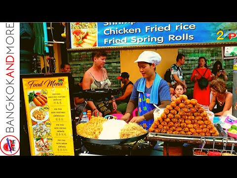 Khao San Road Bangkok 2020 | Daytime Street Food