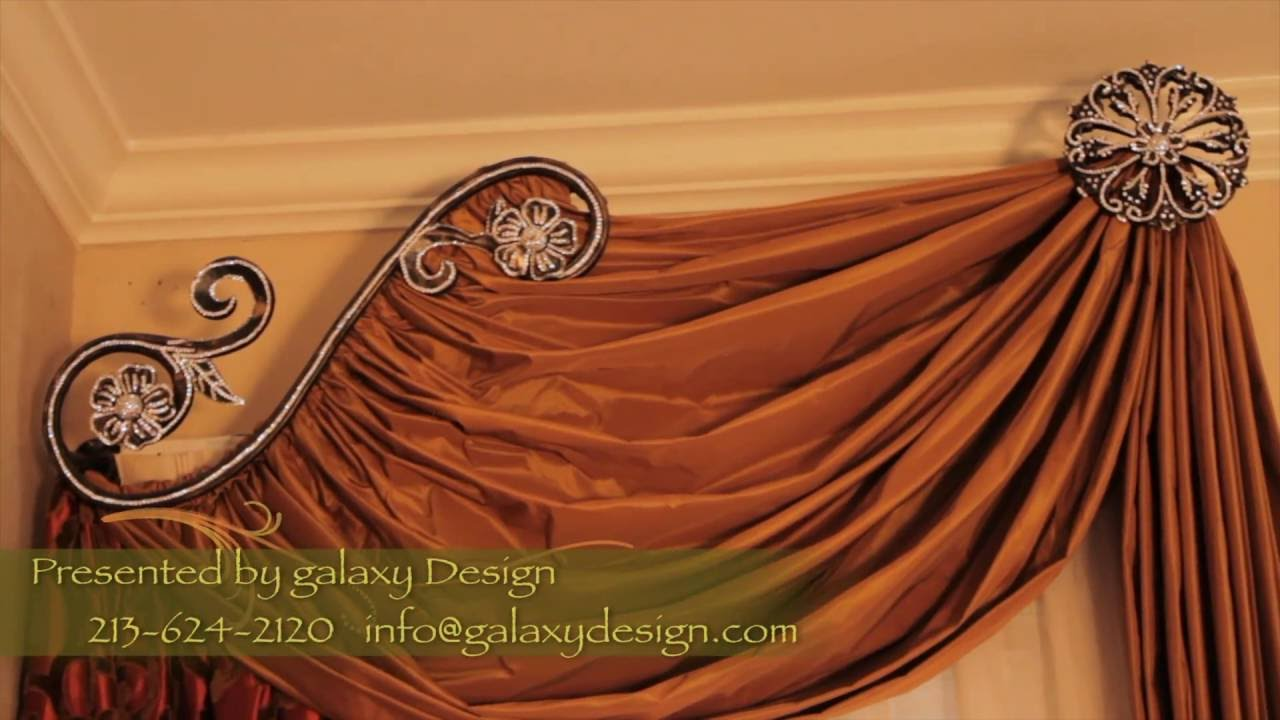 Video 30 designer window treatments luxurious curtains Luxury window treatments