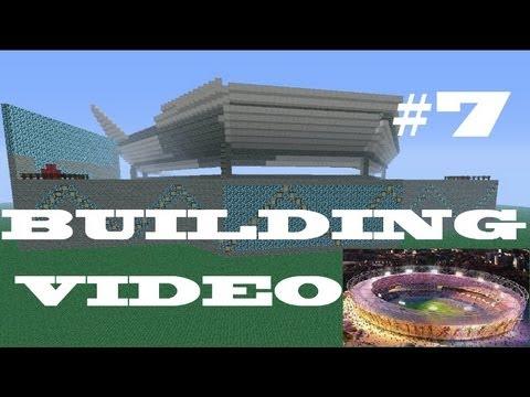 Olympic Stadium Mega Build Minecraft- LOOKS LIKE BOOBS #7