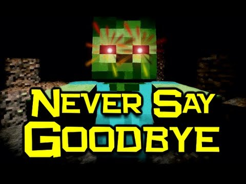 ♪ never Say Goodbye - Minecraft Parody Of train - Drive By (minecraft Song & Animation) video