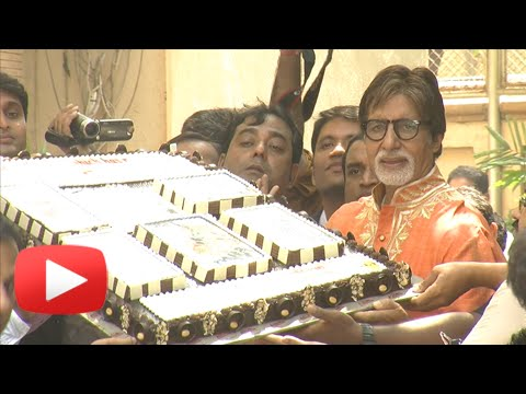 Amitabh Bachchan Interacts With Media On His 72nd Birthday | Uncut Video video
