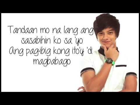 Kumusta Ka - Daniel Padilla (w/ lyrics on screen)