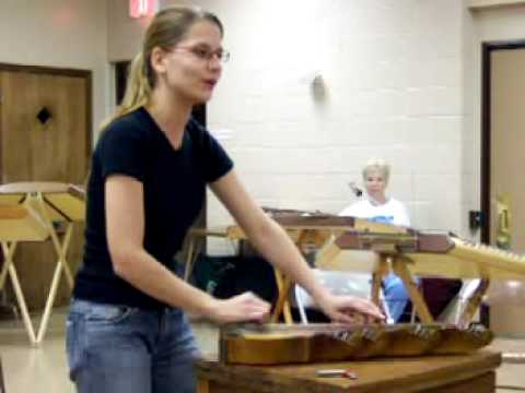Magyar Citera - Hungarian Zither Performance by Edina Teglasi Video