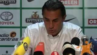 Sergio Scariolo komentaras po draugiškų rungtynių su Lietuva