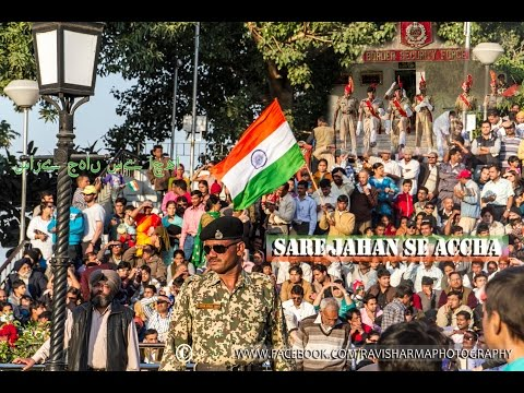 India Pakistan Wagah Border Travel Independence Day Celebration | The Passiontve video