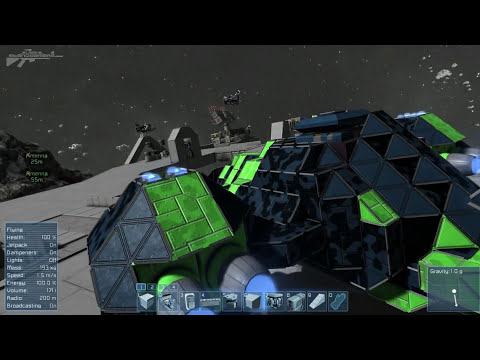 Space Engineers - Advanced Rotor Block, Conveyor System