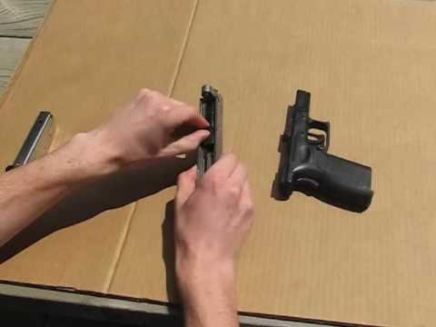 Disassemble and reassemble the Springfield XD (field strip)