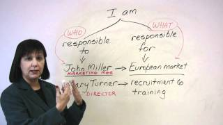 Business English - Talking about your Responsibilities