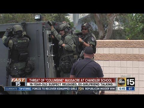 "Threat of ""Columbine"" massacre at Chandler school - 05/07/2014"