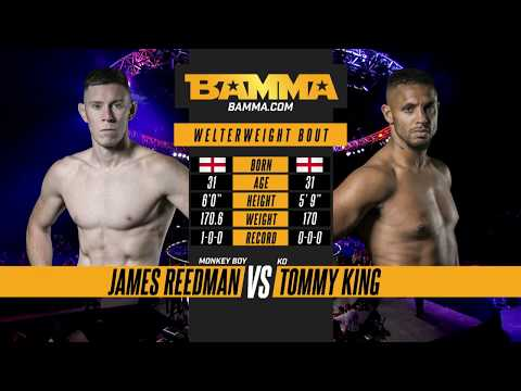 BAMMA 31: James Reedman vs Tommy King