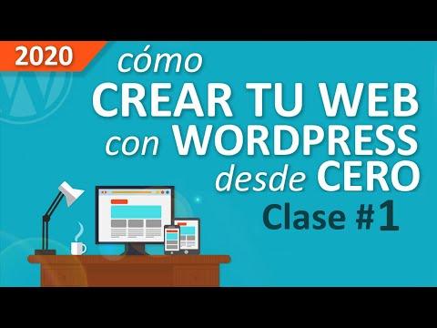 Cómo Crear Una Web Profesional Con WordPress, Desde Cero, Paso a Paso [PARTE #1]