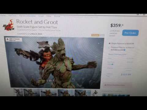 More Thoughts on the Upcoming Groot & Rocket Raccoon Hot Toys Figures
