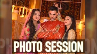 Photo session from the sets of Swaragini