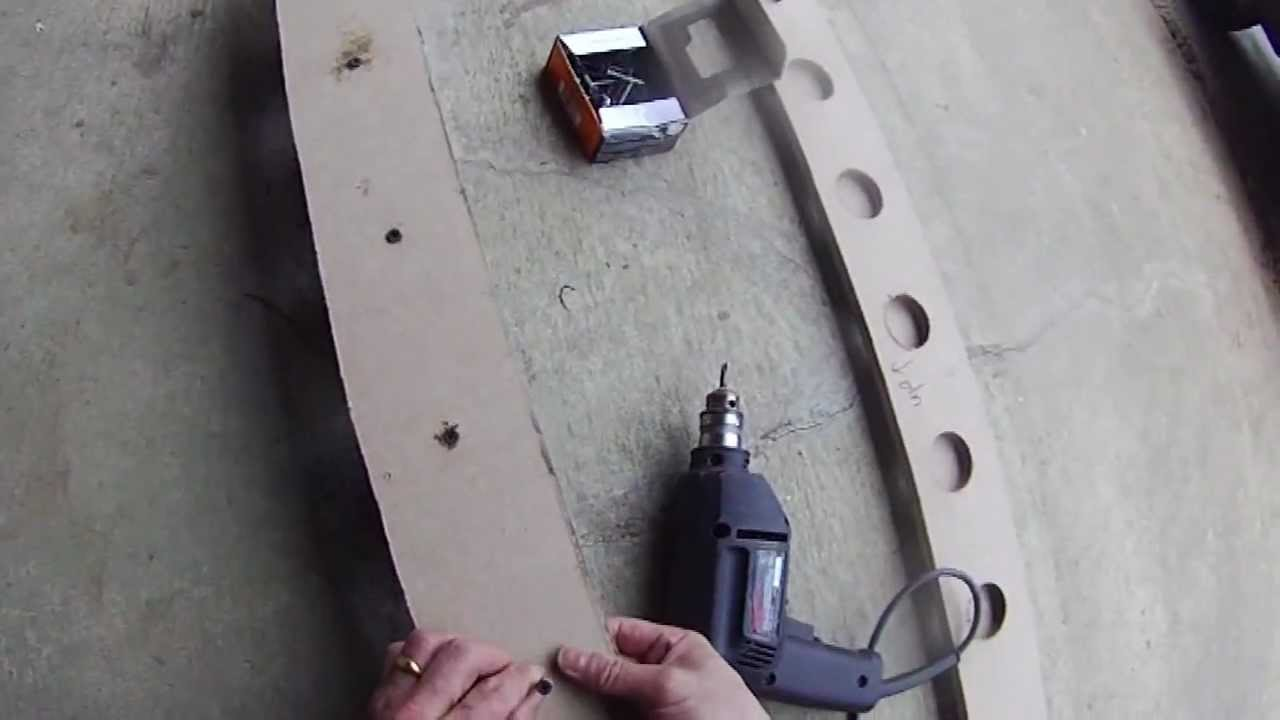 Diy Ceiling Fishing Rod Holder And Rack Youtube