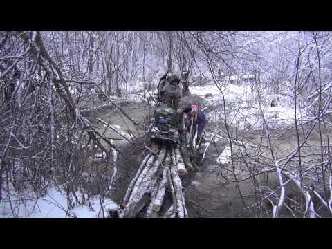 Раскопки зимой по вов