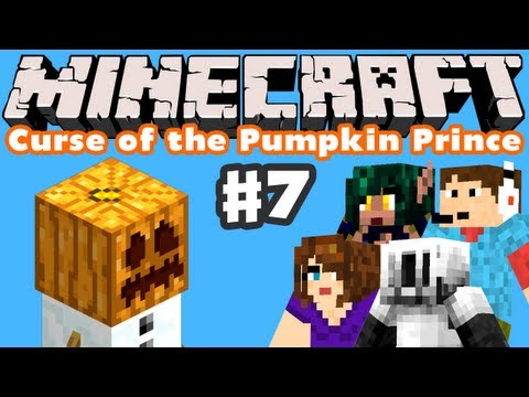 Minecraft: Curse of the Pumpkin Prince - Part 7 - Pumpkin Temple and Final Battle