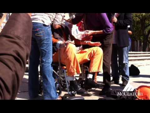 Activists Protest Guantanamo Bay Force-Feeding