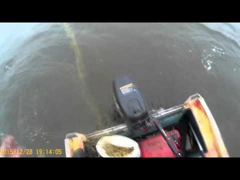 как поставить сети на лодке