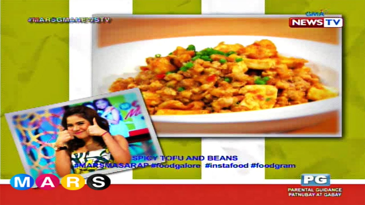 Mars Masarap: Spicy Tofu and Beans by Louise delos Reyes