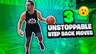 3 Unstoppable Step back Moves for HUGE Separation | Basketball Moves to Create Space
