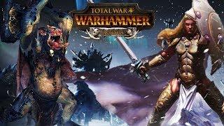 EPIC RETURN OF NORSCA - Throgg VS. Sigvald - Total War Warhammer Gameplay