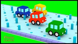 Cartoon Cars - JELLY POOL CHALLENGE! - Construction Cartoons for Children - Kids Cars Cartoons