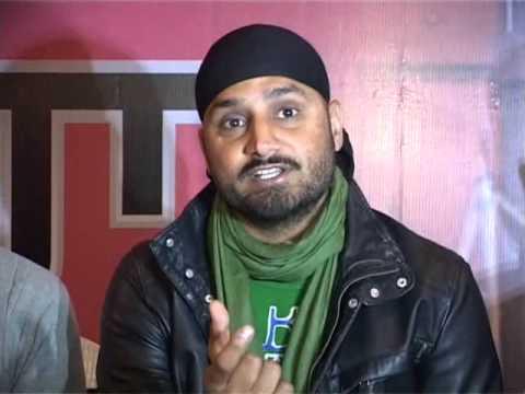 I Dont Listen to Honey Singh I Harbhajan Singh Bhajji