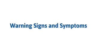 Warning Signs & Symptoms of an Eating Disorder